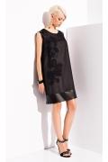 Чёрное платье-туника Zaps Dianne