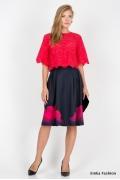 Летняя юбка Emka Fashion 537-marigold