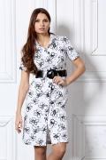 Платье рубашечного кроя | 1533