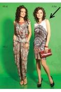 Короткое летнее платье TopDesign A5 046