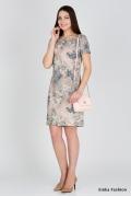 Короткое летнее платье Emka Fashion PL-422/zeriya