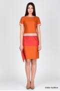 Хлопковое платье Emka Fashion PL-422/ledyana