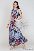 Длинное летнее платье Emka Fashion PL-416/rahil