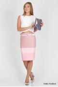 Лиловая юбка Emka Fashion 202-beteni