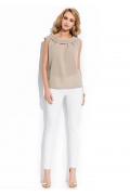 Бежевая блузка Sunwear R97-1