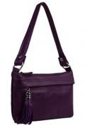 Маленькая сумочка фиолетового цвета Teendy Bags Message