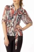 Стильная блузка из шифона Golub | Б486-1126