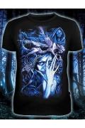 Мужская футболка Ночной Эльф (Светится в темноте и уф.)