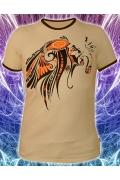 Мужская футболка Трубка мира (Светится в ультрафиолете)