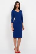 Платье синего цвета Emka Fashion PL-428/elpis