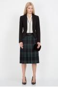 Шерстяная клетчатая юбка Emka Fashion 219-70/narmina