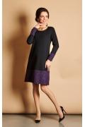 Стильное прямое платье TopDesign B5 077