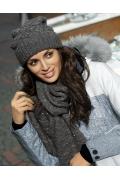 Женский комплект (шапка и шарф) Kamea Valeri