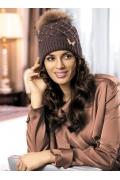 Молодёжная шапка с помпоном Kamea Otylia