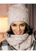 Комплект женский шапка со снудом Kamea Ameli