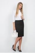 Чёрная юбка Emka Fashion 498-ofeliya