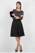 Чёрная юбка Emka Fashion 247-almaza