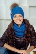 Женская зимняя шапка с помпоном Landre Селия