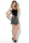 Кожаная мини-юбка Donna Saggia DSU-08-74t