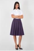 Юбка фиолетового цвета Emka Fashion 552-avgustina