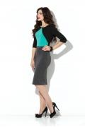 Трикотажное платье-футляр Donna Saggia DSP-177-49t