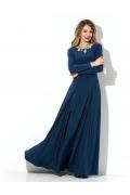 Длинное трикотажное платье Donna Saggia DSP-211-41t