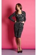 Офисное платье TopDesign B5 042