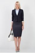Недорогая офисная юбка Emka Fashion 400-rolana