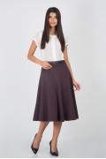 Юбка сливового цвета Emka Fashion 541-ketty
