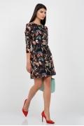 "Платье с рисунком ""Бабочки"" Emka Fashion PL-439/felicia"