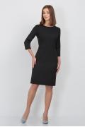Платье чёрного цвета Emka Fashion PL-429/ofeliya