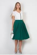 Юбка зеленого цвета Emka Fashion 532-bembi