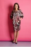 Платье свободного кроя TopDesign Premium B5 143