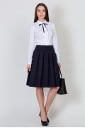 Юбка тёмно-синего цвета Emka Fashion 552-valentina
