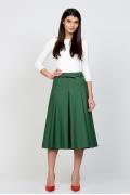 Юбка зеленого цвета Emka Fashion 525-extra