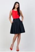 Тёмно-синяя юбка Emka Fashion 322-kirsten