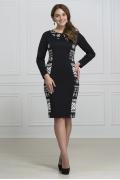 Трикотажное платье Rosa Blanco 3053