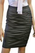 Стильная юбка серого цвета | 3295-13