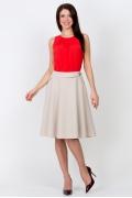Расклешенная юбка Emka Fashion 566-florida