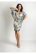 Трикотажное летнее платье TopDesign A6 044