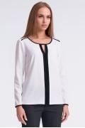 Бело-чёрная блузка Sunwear U37