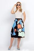 Яркая летняя юбка Emka Fashion 595-riviera