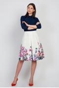 Летняя юбка из хлопка Emka Fashion 526-asya
