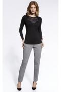 Чёрная блузка Ennywear 200083