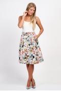 Летняя юбка Emka Fashion 608-beverly
