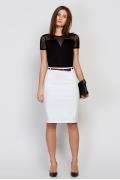 Белая юбка Emka Fashion 559-devi