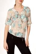 Блузка из шифона | Б757-1121