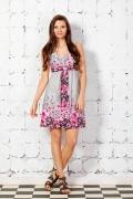 Летнее цветочное платье | 1601