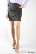 Чёрная мини-юбка | 250-chloe