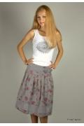 Летняя юбка из натуральной ткани | 249-olivia3